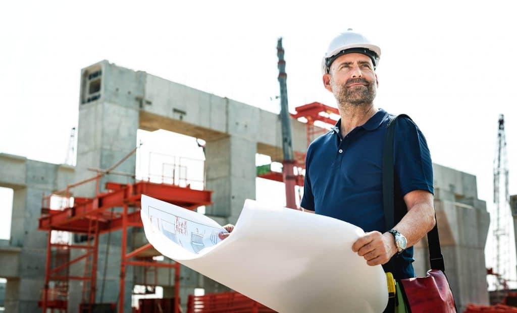 entrepreneur en construction